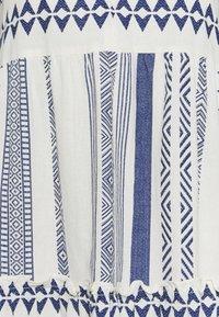 Vero Moda Petite - VMDICTHE CALF DRESS - Day dress - birch/new dicthe/sodalite blue - 2