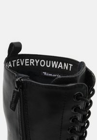 Tamaris - BOOTS - Lace-up boots - black - 5