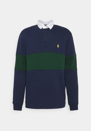 RUGBY LONG SLEEVE - Mikina - french navy/college green