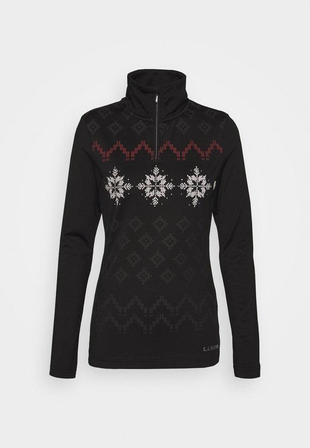 ERNHOLM - Fleece jumper - black