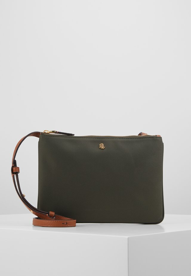 CARTER CROSSBODY MEDIUM - Across body bag - deep olive