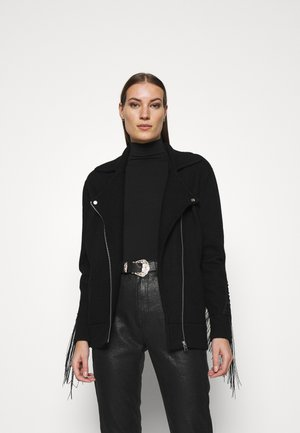 ROBYN BIKER - Summer jacket - black