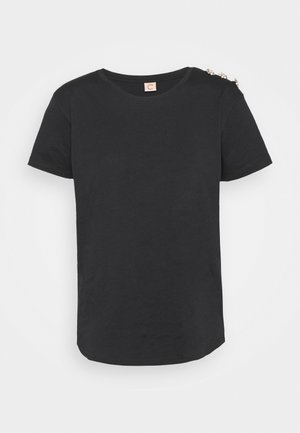 CRYSTAL - T-shirts - anthracite/black