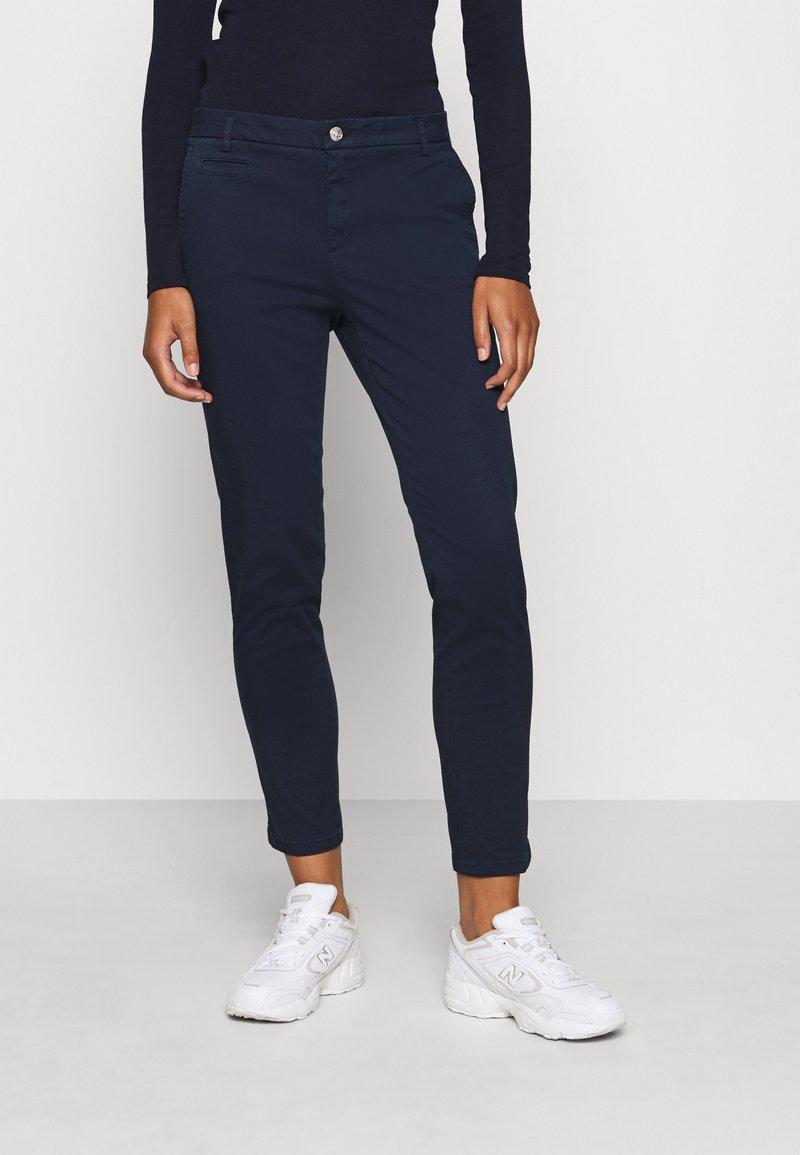 Benetton - Spodnie materiałowe - navy