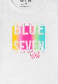Blue Seven - SMALL GIRLS RAINBOW LOVE - T-shirts print - weiß - 2