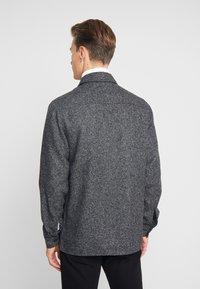 Solid - ANTON - Skjorta - dark grey melange - 2
