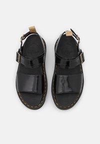 Dr. Martens - VEGAN VOSS - Platform sandals - black - 5