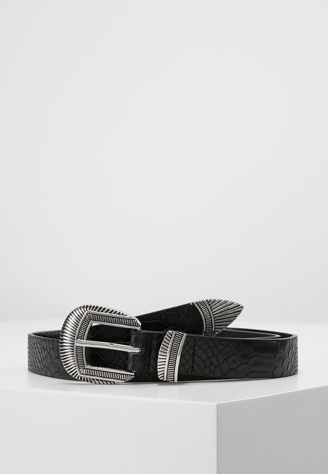 OBJIVY BELT - Cinturón - black