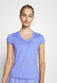 Nike Performance - DRY  - T-shirts - royal pulse/white - 0