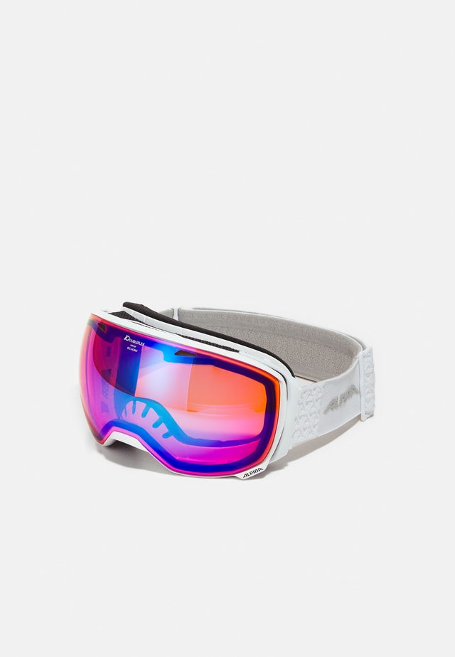 BIG HORN - Skidglasögon - white
