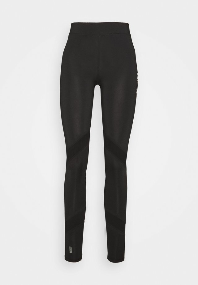 ONPAZZIE TRAINING TIGHTS TALL - Legginsy - black