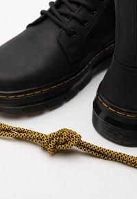 Dr. Martens - COMBS - Šněrovací kotníkové boty - black - 5
