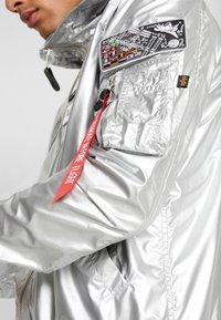 Alpha Industries - HOODED NASA - Summer jacket - silver - 5