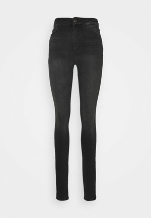 ONLBLUSH HIGH WAIST - Skinny džíny - black denim