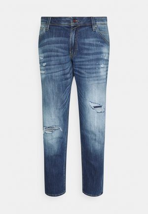 JJIGLENN JJFOX - Straight leg jeans - blue denim