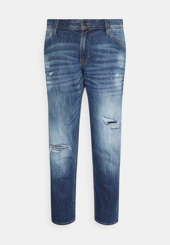JJIGLENN JJFOX - Jeans a sigaretta - blue denim