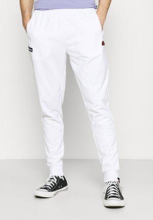 BERTONI TRACK PANT - Tracksuit bottoms - white