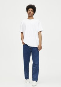 PULL&BEAR - 2 PACK - T-shirt basic - white, black - 0