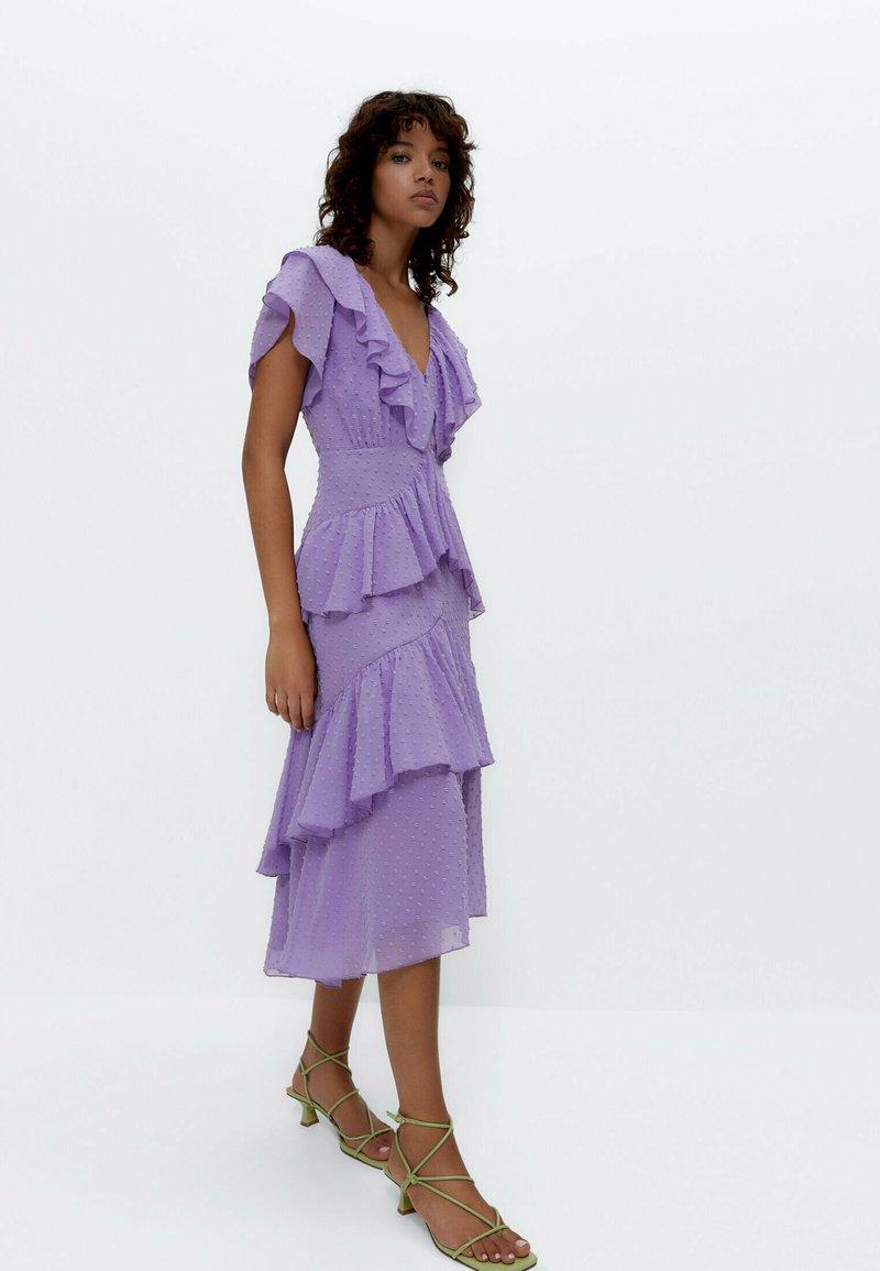 Uterqüe - Day dress - lilac