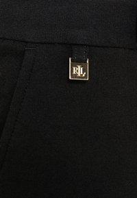 Lauren Ralph Lauren - MODERN PONTE PANT - Trousers - polo black - 5