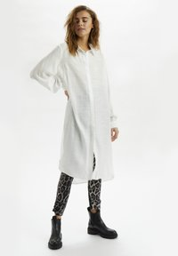 Cream - CRBECKY  - Button-down blouse - snow white - 1