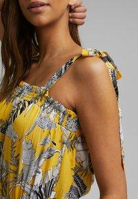 Esprit - Maxi dress - yellow - 3