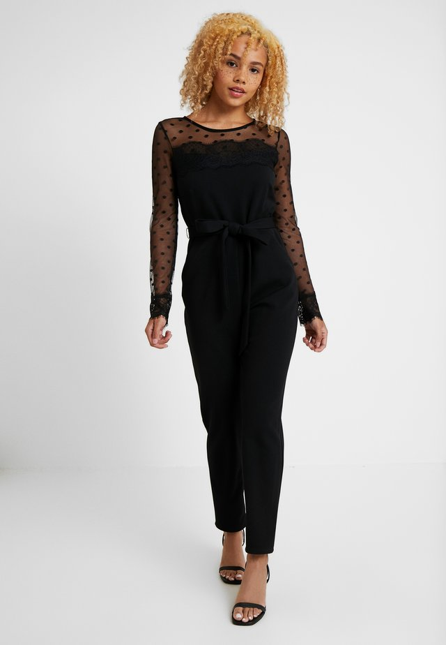 DOBBY SPOT - Jumpsuit - black