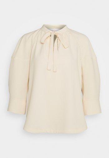 Blouse - angora beige