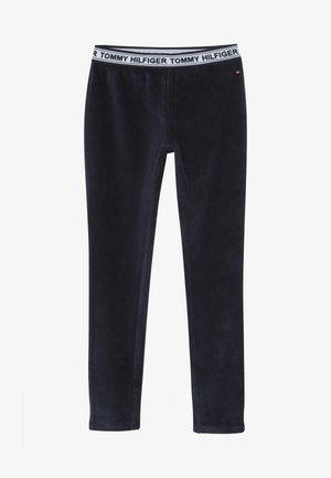 VELOURS - Leggings - Trousers - blue