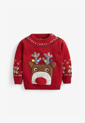 REINDEER CHRISTMAS - Jumper - red