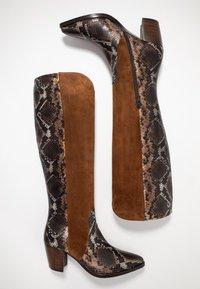 Maripé - Cowboy/Biker boots - patagunia rovere/bruciato - 3