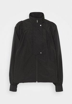 LIGHT AUTUMN SUIT - Summer jacket - black