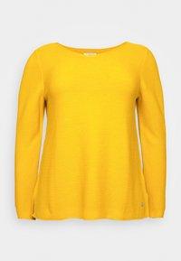 STRUCTURED - Jersey de punto - california sand yellow