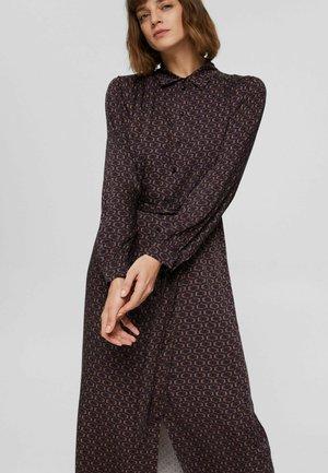 Shirt dress - navy 4
