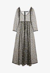 Missguided - FESTIVAL EXCLUSIVE STAR PRINT DRESS - Maxikjole - black - 0