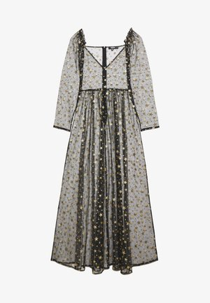 FESTIVAL EXCLUSIVE STAR PRINT DRESS - Maxi šaty - black