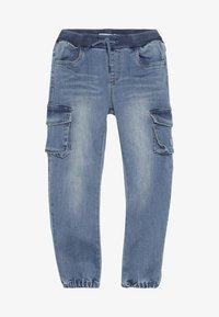 Name it - NMMBOB  - Pantalones cargo - light blue denim - 3