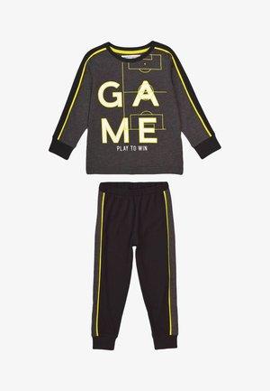 2 PIECES - Pyjama - dark grey/green