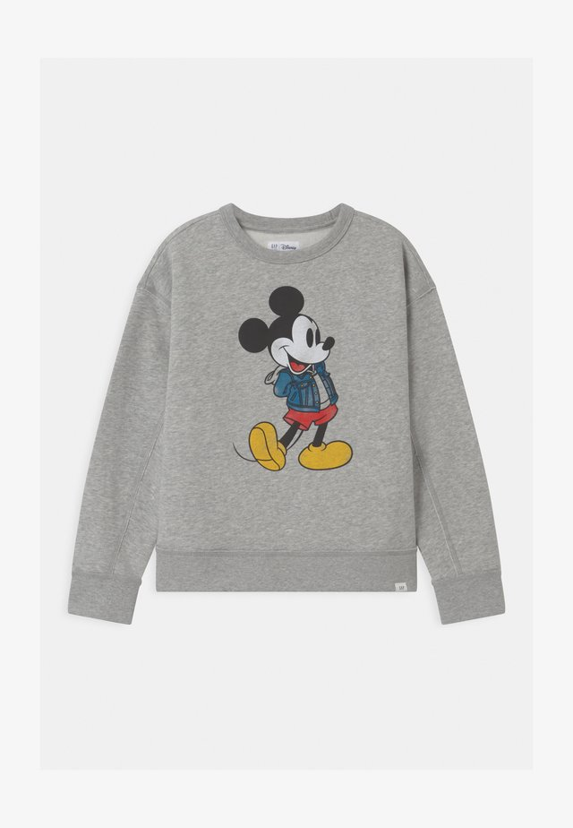 BOY DISNEY MICKEY MOUSE CREW - Sweatshirt - light heather grey