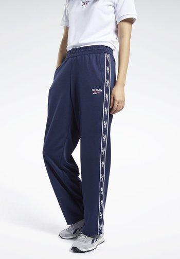 CLASSICS VECTOR TAPE JOGGERS - Pantalones deportivos - blue