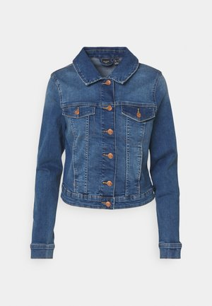 VMTINE SLIM JACKET - Denim jacket - medium blue denim