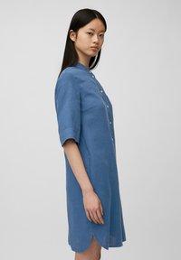Marc O'Polo - Shirt dress - lake blue - 4