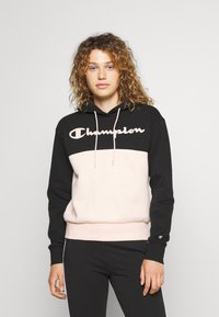 Champion - HOODED - Sweatshirt - black - 0
