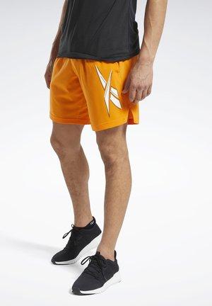WORKOUT READY SHORTS - Sports shorts - orange