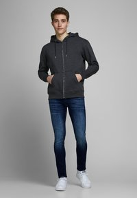 Jack & Jones - SKINNY FIT JEANS LIAM ORIGINAL JOS 283 - Jeans Skinny Fit - blue denim - 1