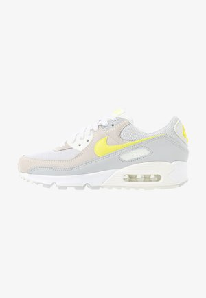 AIR MAX 90 - Sneakersy niskie - white/lemon/pure platinum/sail