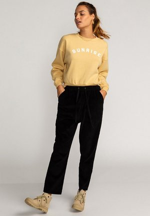 BE MINDFUL - Sweatshirt - pale yellow
