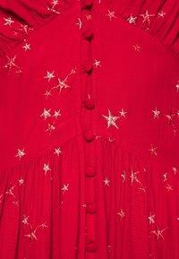 Ghost - CORA DRESS - Vestito estivo - red - 5