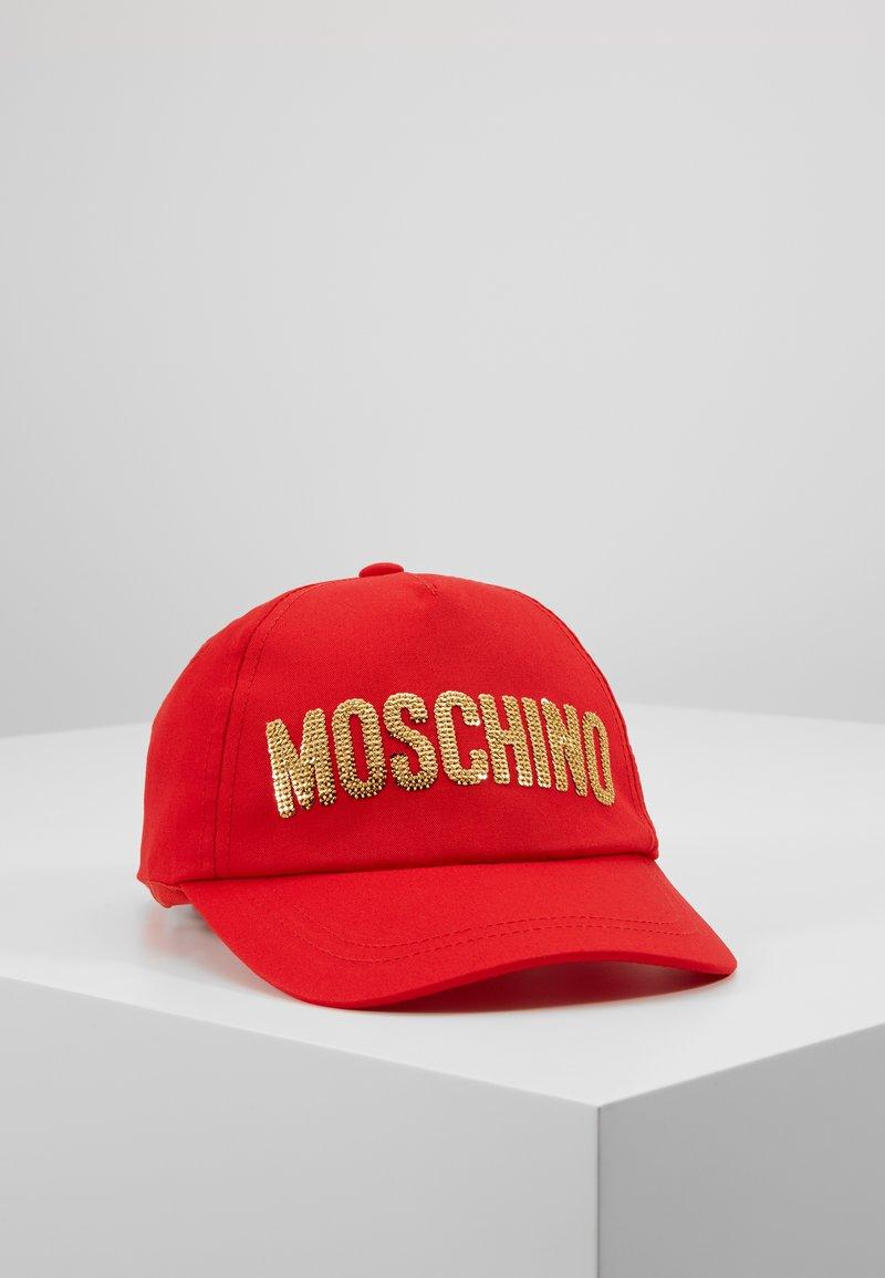 MOSCHINO - HAT - Gorra - poppy red