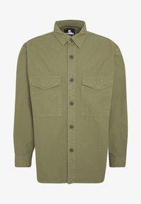Edwin - BIG SHIRT  - Košile - military green - 4